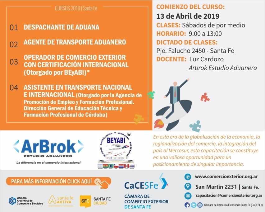 Despachante de Aduanas / ATA 2019/2020
