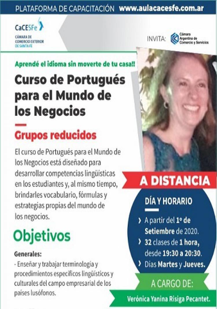 Curso de Portugués para el Mundo de los Negocios
