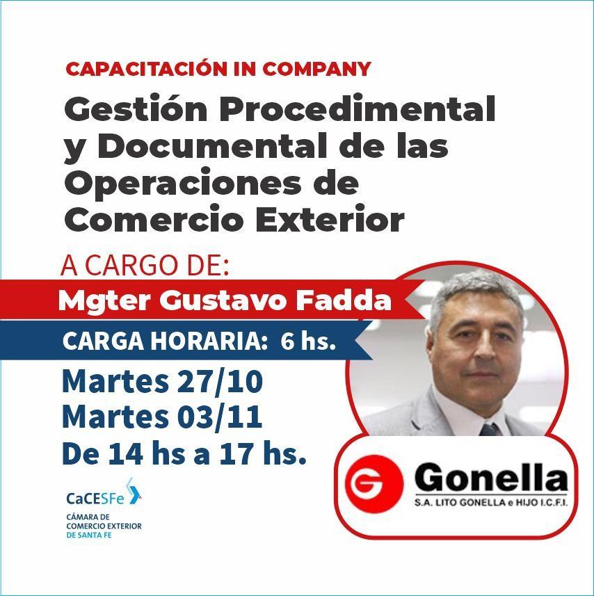 Gestion procedimental y documental de las Operaciones de Comercio Exterior